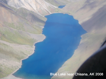 Blue Lake near Chisana, AK 2008